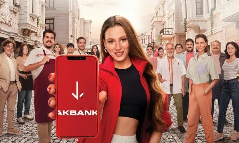 Akbank, yeni marka yüzü Serenay Sarıkaya'nın yer aldığı reklam kampanyasıyla pandemi nedeniyle ihtiyaçlarını erteleyen herkesi Akbanklı olmaya ve harekete geçmeye çağırıyor.