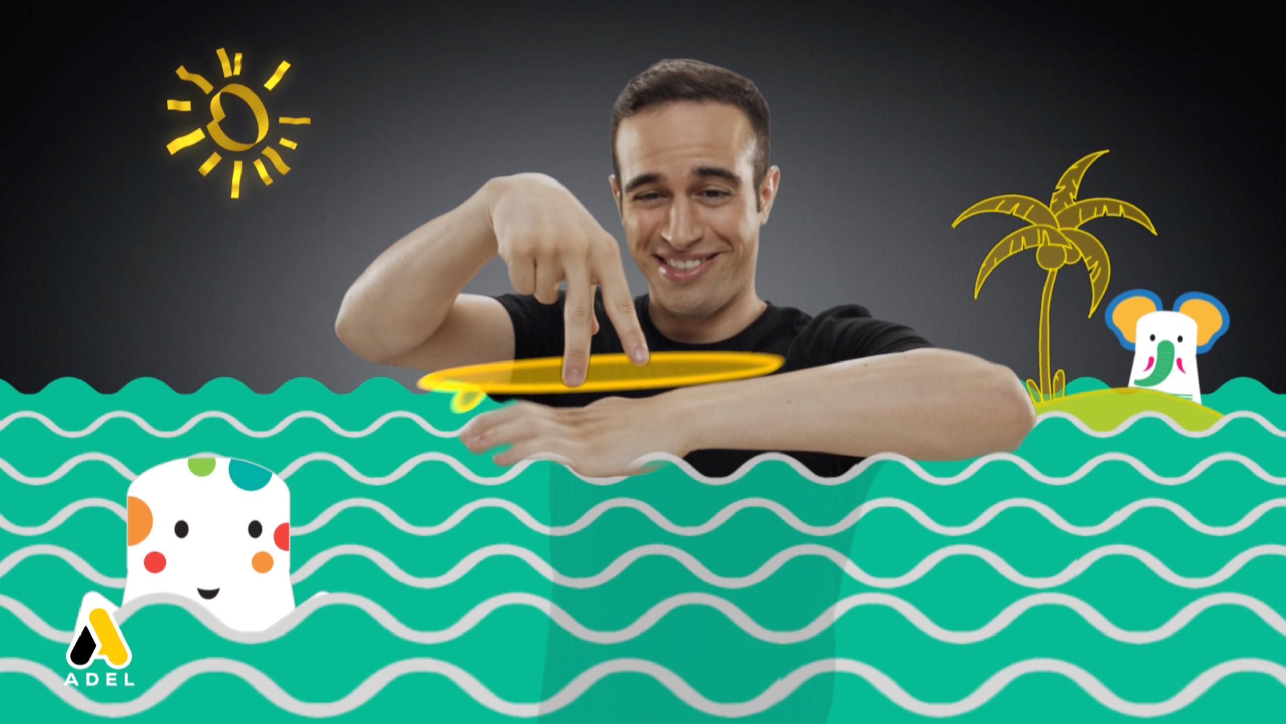 """Adel, """"Adel ile Her Şey Senin Elinde"""" sloganıyla yeni reklam filmini ekranlara taşıyor."""