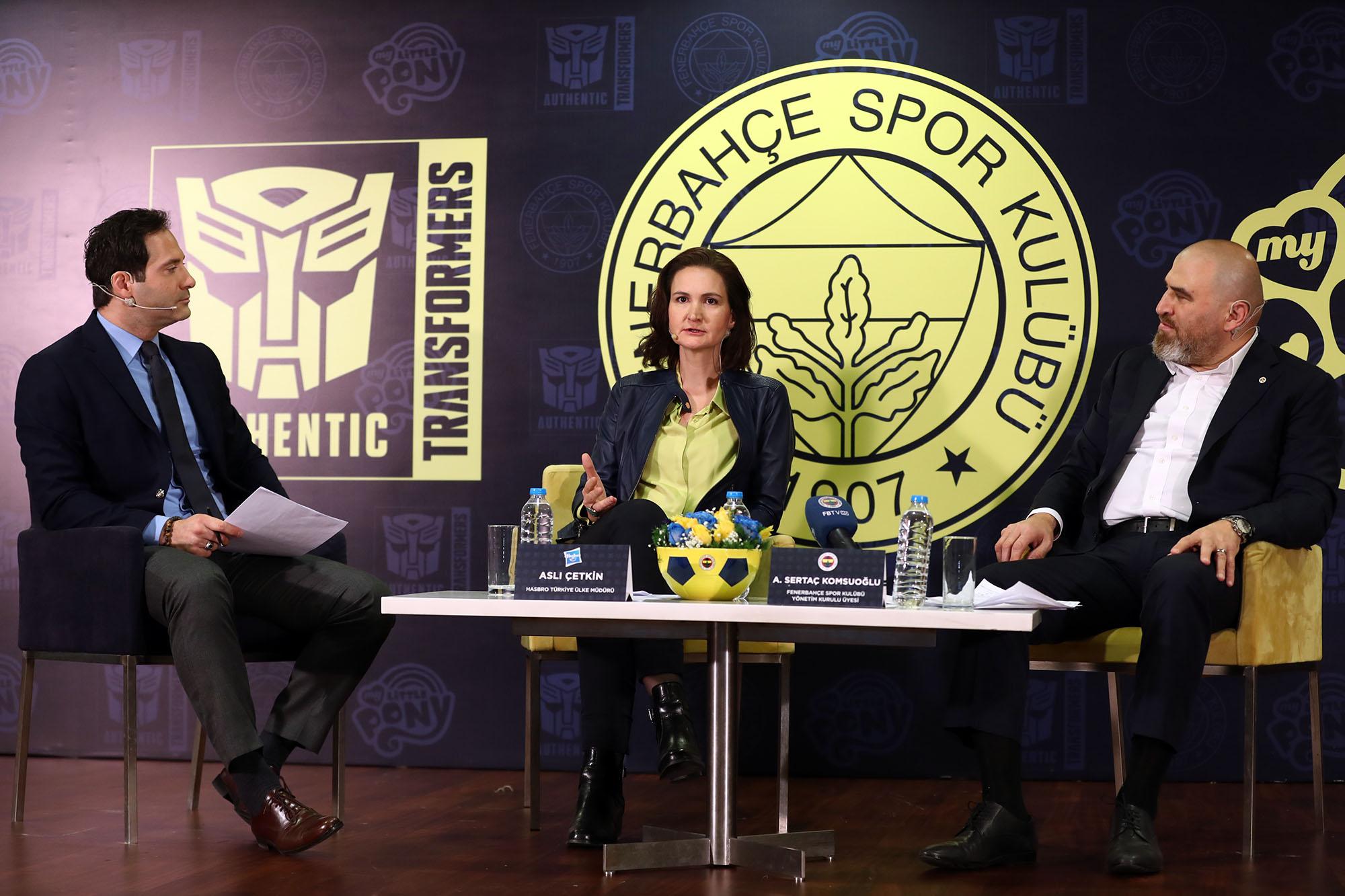 Hasbro, Türkiye'nin öncü spor kulüplerinden Fenerbahçe ile önemli bir iş birliğine imza attı.