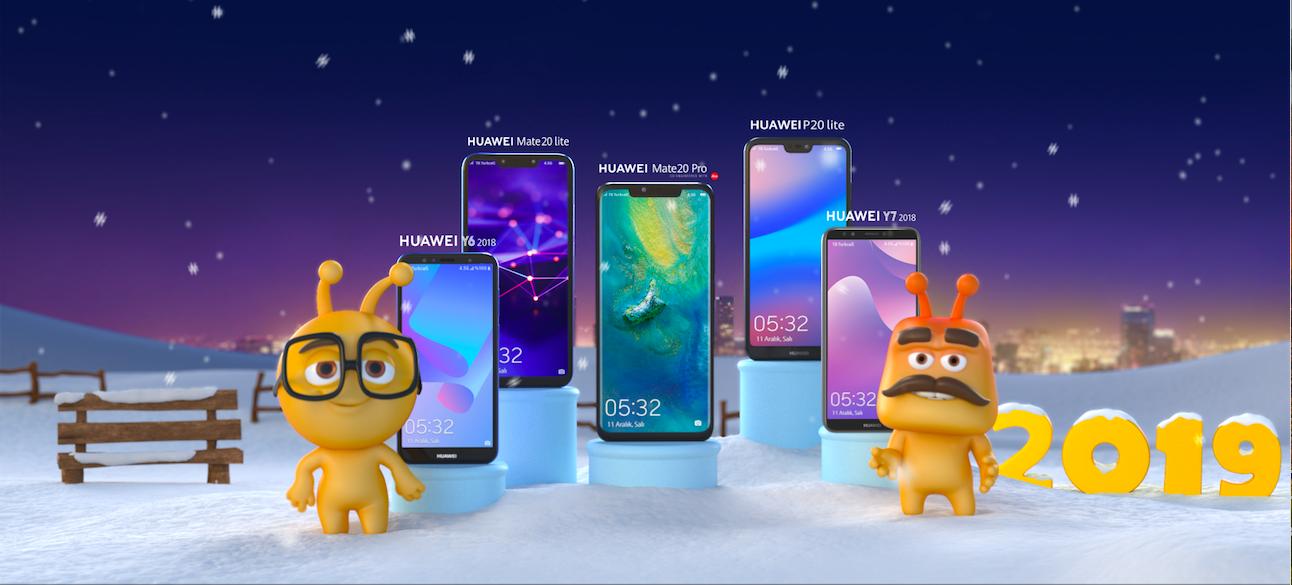 Turkcell, Huawei model telefonlar için yaptığı yeni yıl kampanyasına ait Anima imzalı reklam filmini yayınladı.