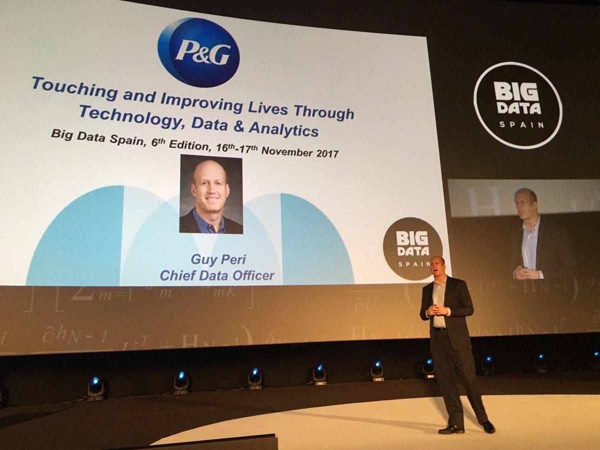 Global Girişimcilik Kongresi için Türkiye'ye ilk kez gelecek olan P&G Global Veri Yöneticisi (CDO) Guy Peri, P&G'nin inovasyona yön veren veri analitiği alanındaki beyni olarak kabul ediliyor.