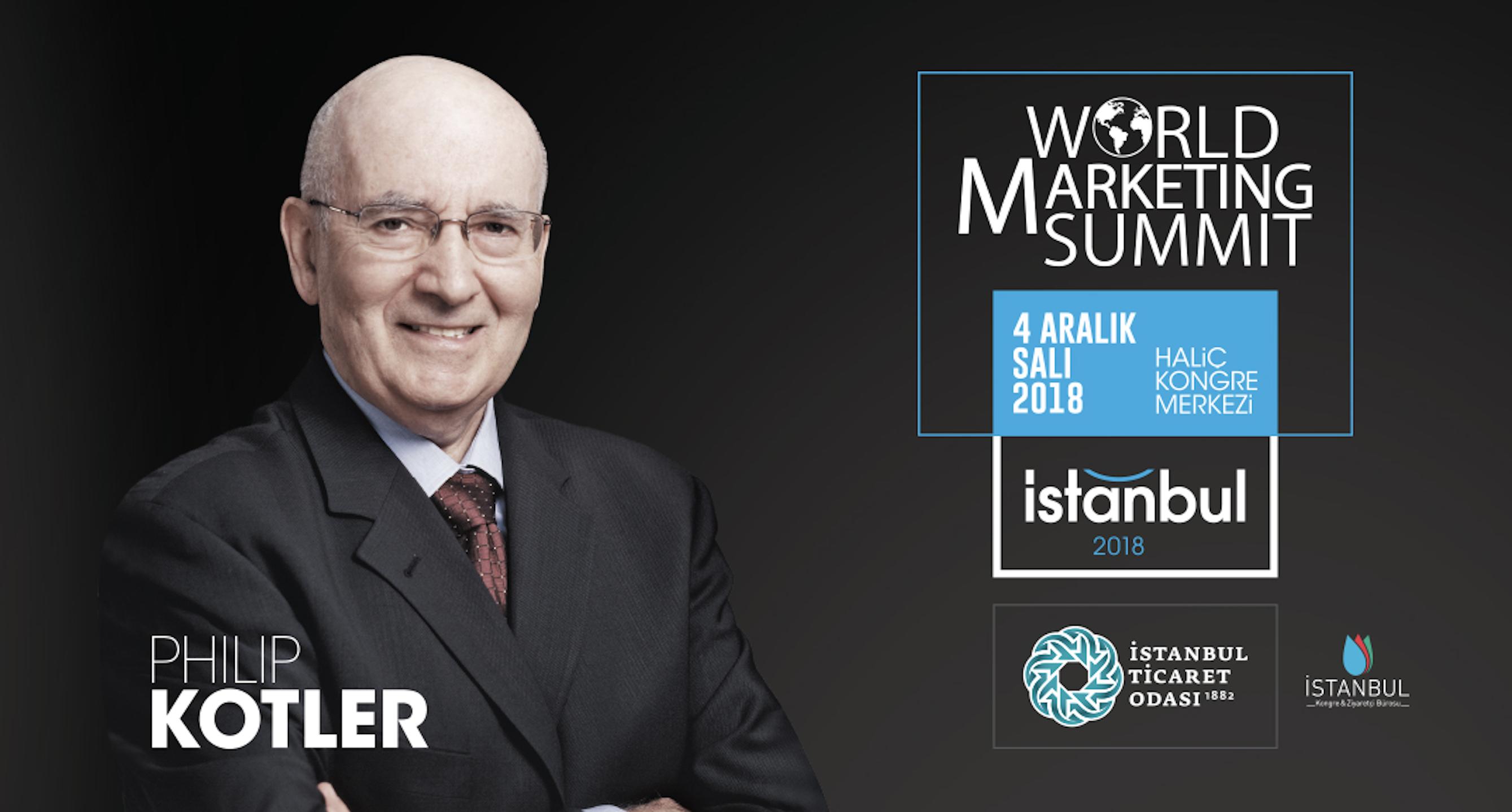 Pazarlama gurusu Philip Kotler'ın öncülüğünde 7 yıl önce kurulan World Marketing Summit (WMS), ile ilgili görsel sonucu