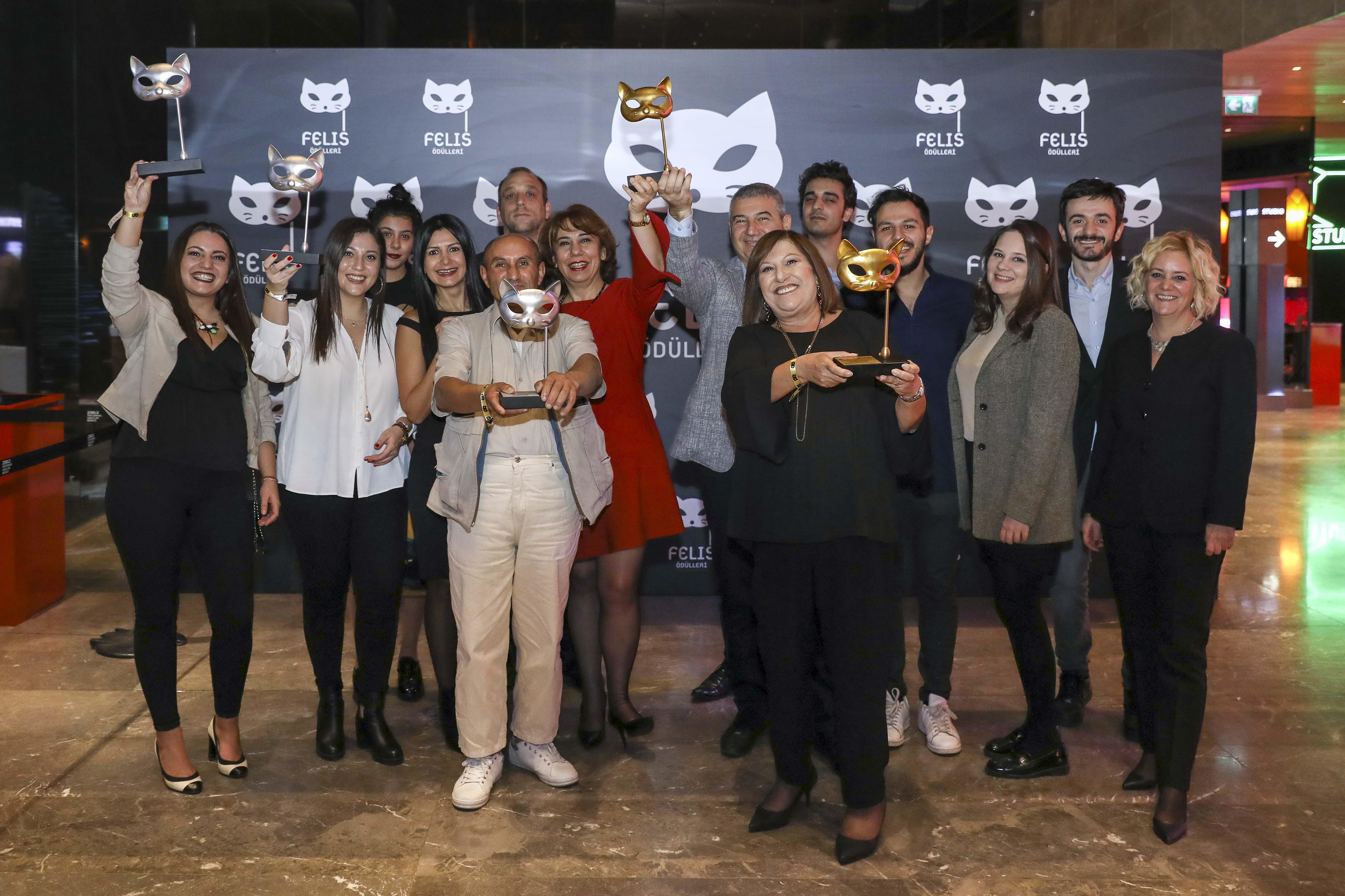 MPR, yaratıcılığın, etkinin ve kalitenin değerlendirildiği Felis Ödülleri'nde bu yıl üç Felis, iki büyük ödül, bir de başarı ödülü kazandı.