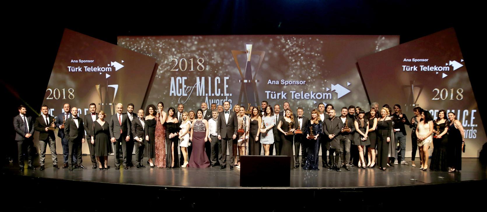 ACE of M.I.C.E. Awards, Mart 2019 tarihinde Turizm Medya Grubu(TMG) organizasyonunda Lütfi Kırdar Kongre ve Sergi Sarayı'nda gerçekleşecek seremonide yedinci kez MICE'ın aslarını belirleyecek.