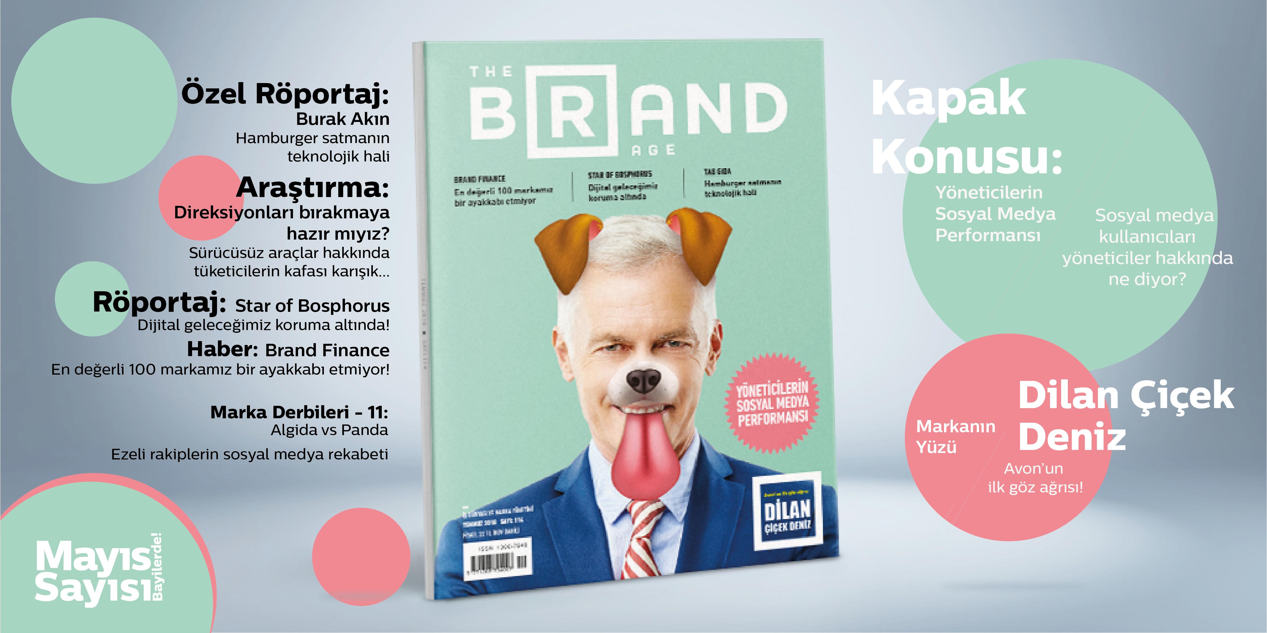 The Brand Age'in Haziran sayısı yayında! Turkcell Dergilik ve Türk Telekom e-dergi'den de ücretsiz okuyabilirsiniz.