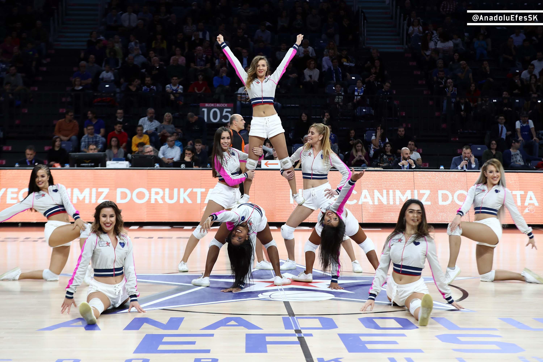 Anadolu Efes Kızları, ülkemizi Euroleague Dance Challenge'da temsil edecek.