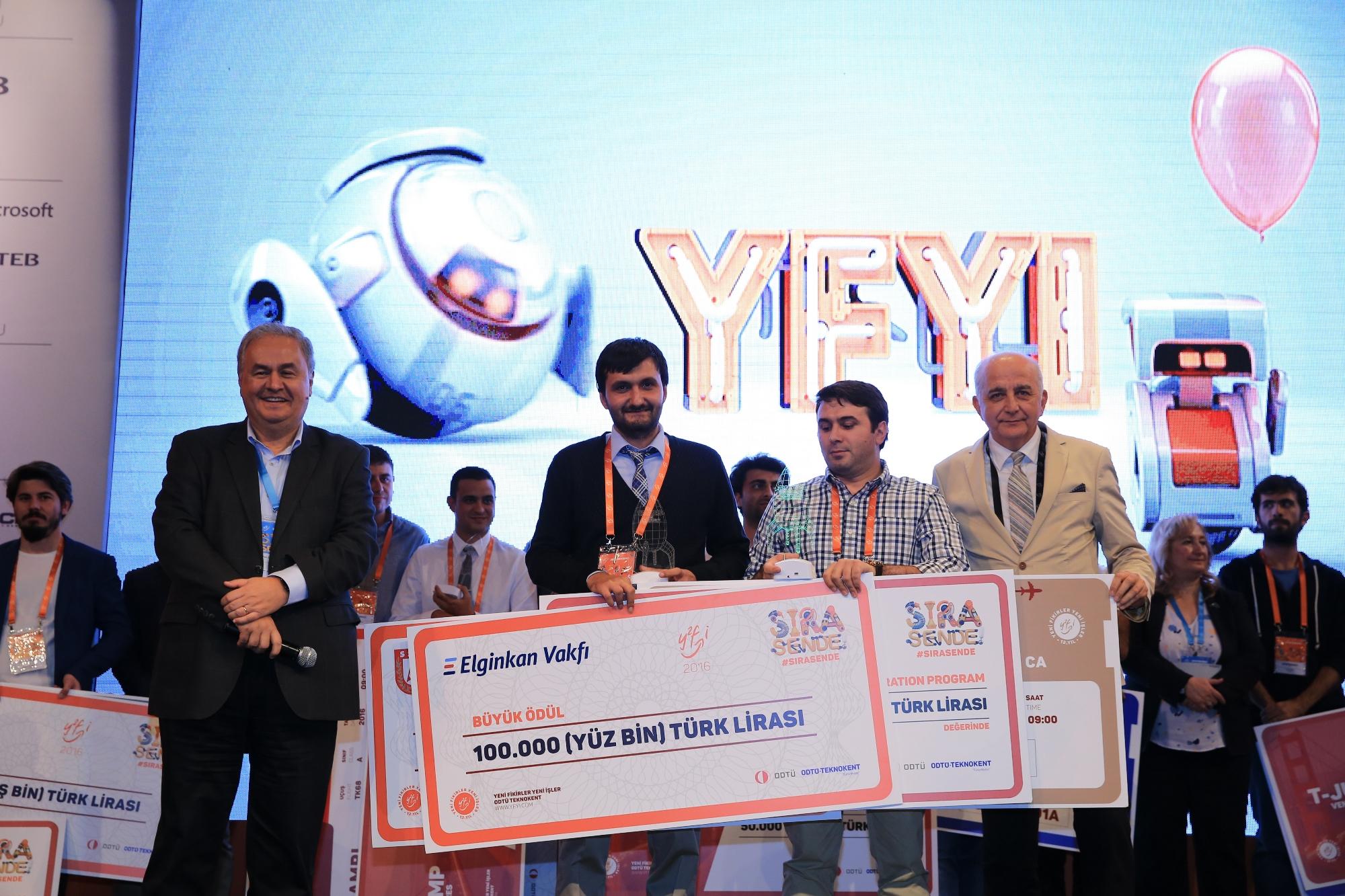 ODTÜ ve ODTÜ TEKNOKENT tarafından bu yıl 13.sü düzenlenen Türkiye'nin  hızlandırma programı Yeni Fikirler Yeni İşler (YFYİ)'de sona yaklaşıldı.