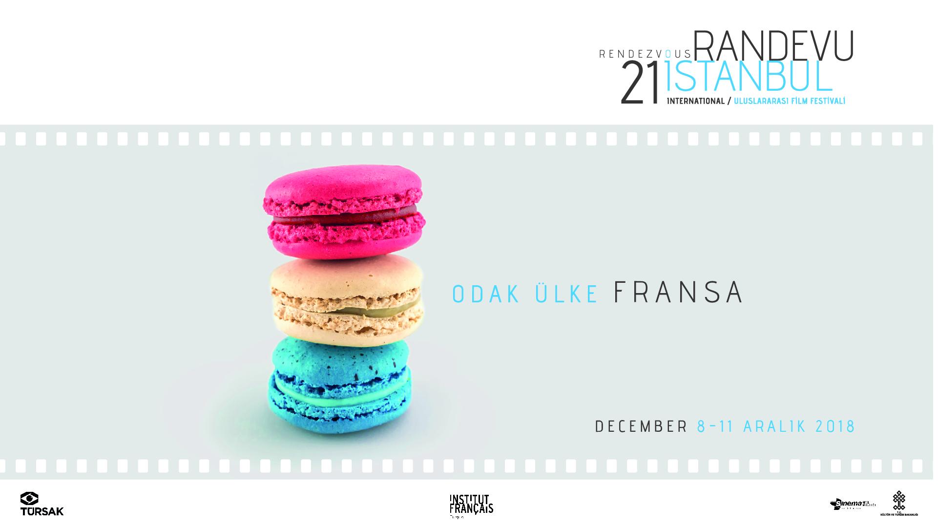 T.C. Kültür ve Turizm Bakanlığı destekleriyle Türkiye Sinema ve Audiovisuel Kültür Vakfı (TÜRSAK )tarafından gerçekleştirilen 21. Randevu İstanbul Uluslararası FilmFestivali'nin 8 Aralık Cumartesi başlıyor.
